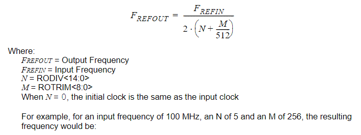 I2S and Reference Clocks on the PIC32MZ — PIC32 for the